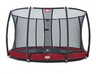 Батут Berg Elite + InGround Red 330 + Safety Net T-series 330