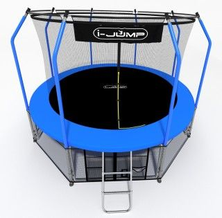 Батут I-JUMP ELEGANT 10FT BLUE