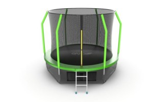 Батут EVO JUMP COSMO 10FT GREEN + LOWER NET