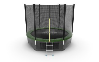 Батут EVO JUMP EXTERNAL 10 FT GREEN + LOWER NET