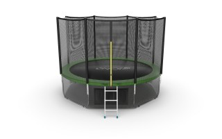Батут EVO JUMP EXTERNAL 12 FT GREEN + LOWER NET