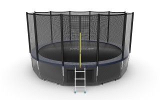 Батут EVO JUMP EXTERNAL 16 FT BLUE + LOWER NET