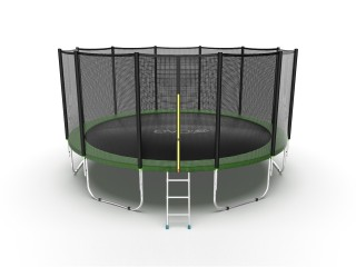 Батут EVO JUMP EXTERNAL 16FT GREEN