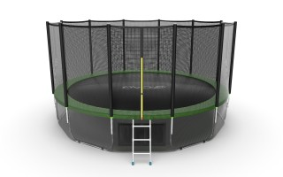 Батут EVO JUMP EXTERNAL 16 FT GREEN + LOWER NET