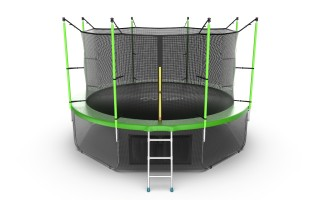 Батут EVO JUMP INTERNAL 12FT GREEN + LOWER NET