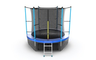 Батут EVO JUMP INTERNAL 8 FT BLUE + LOWER NET