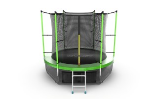 Батут EVO JUMP INTERNAL 8 FT GREEN + LOWER NET