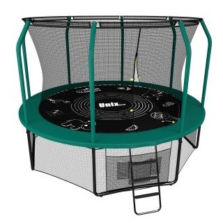 Батут UNIX line 10FT SUPREME GAME (green)