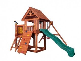 Игровая площадка Playgarden Green Hill с балконом