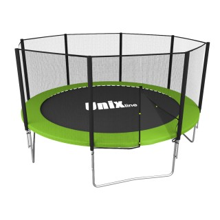 Батут UNIX LINE SIMPLE 12FT GREEN OUTSIDE TRSI12OUTG