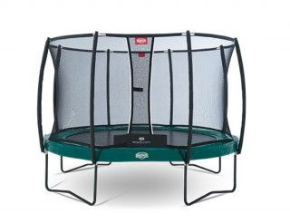 Батут Berg Elite + Regular Green 380 + Safety Net T-series 380