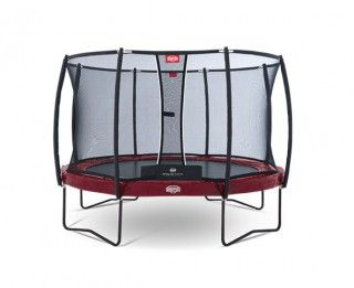 Батут Berg Elite + Regular Red 380 + Safety Net T-Series 380